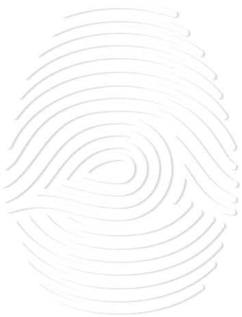 Bay Forensic Logo - fingerprint
